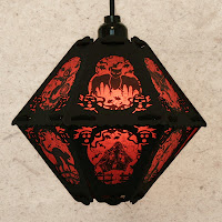 The Pumpkin Patch limited edition vintage-style paper lantern by Bindlegrim is on sale during the month of July 2013