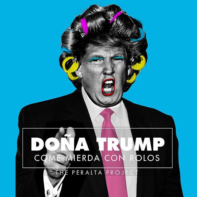 Tony Peralta. Doña Trump con Rolos. 2015