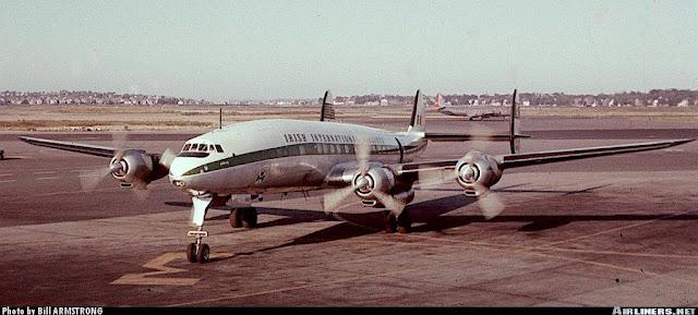 pesawat Lockhed L-1049H Super Constellation jatuh dan tidak pernah ditemukan