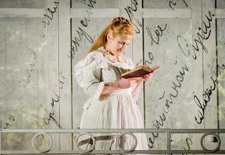 Susan Gritton in Eugene Onegin at Grange Park Opera, 2015 - photo credit Robert Workman