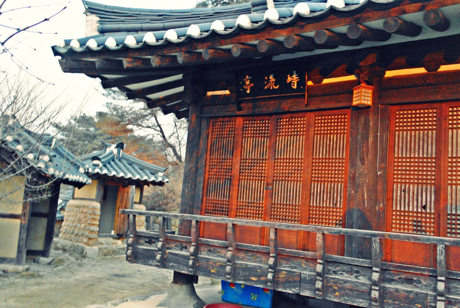 Quaint Yeongju Museom Hanok Village 영주 무섬마을 | meheartseoul.blogspot.com