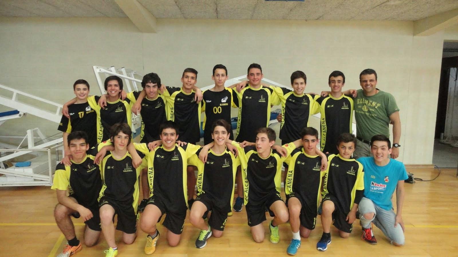 Equipa de iniciados 2014/15