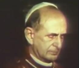 No deje de ver: Estrella-bestia en la sien de Pablo VI.