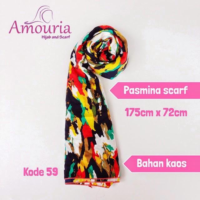 Hijab Amouria Pashmina Scarf Kode 059