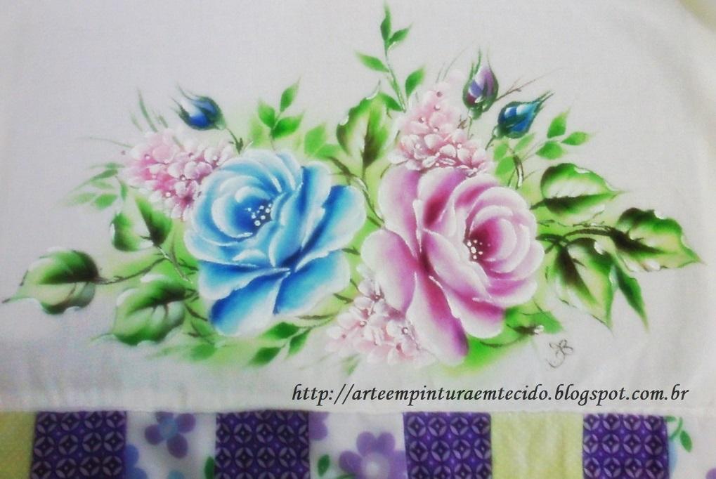 Pintura em Tecido, Como fazer, Passo a passo, Riscos e muitas dicas