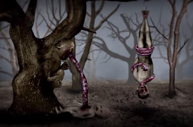 El Gore Bizarro animado de Flying Lotus