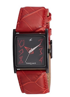 Fastrack Analogue Black Dial Women's Watch