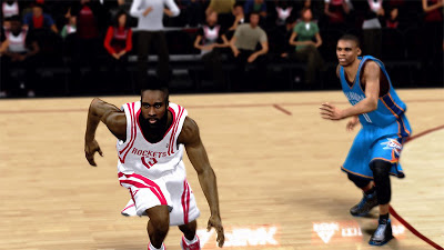 NBA 2K13 James Harden Hairstyle and Facial Hair Update