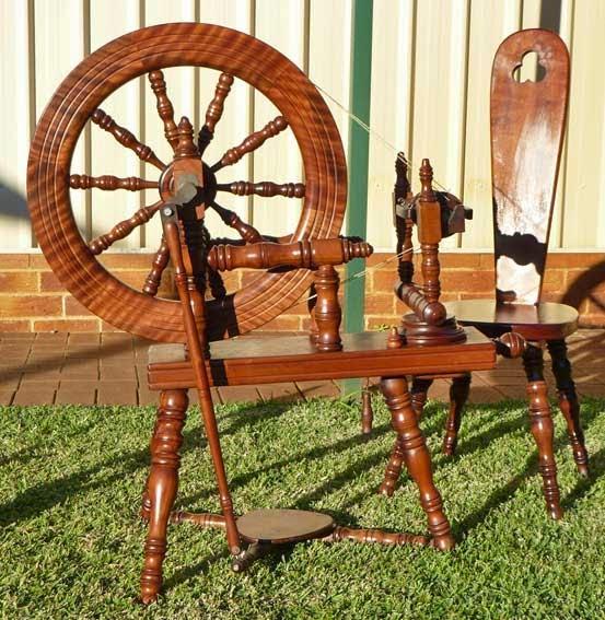 Makers N S Australian Spinning Wheels