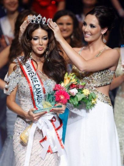 Miss Universe Canada 2012 winner Sahar Biniaz ambitious Jenna Talackova Transgender lost