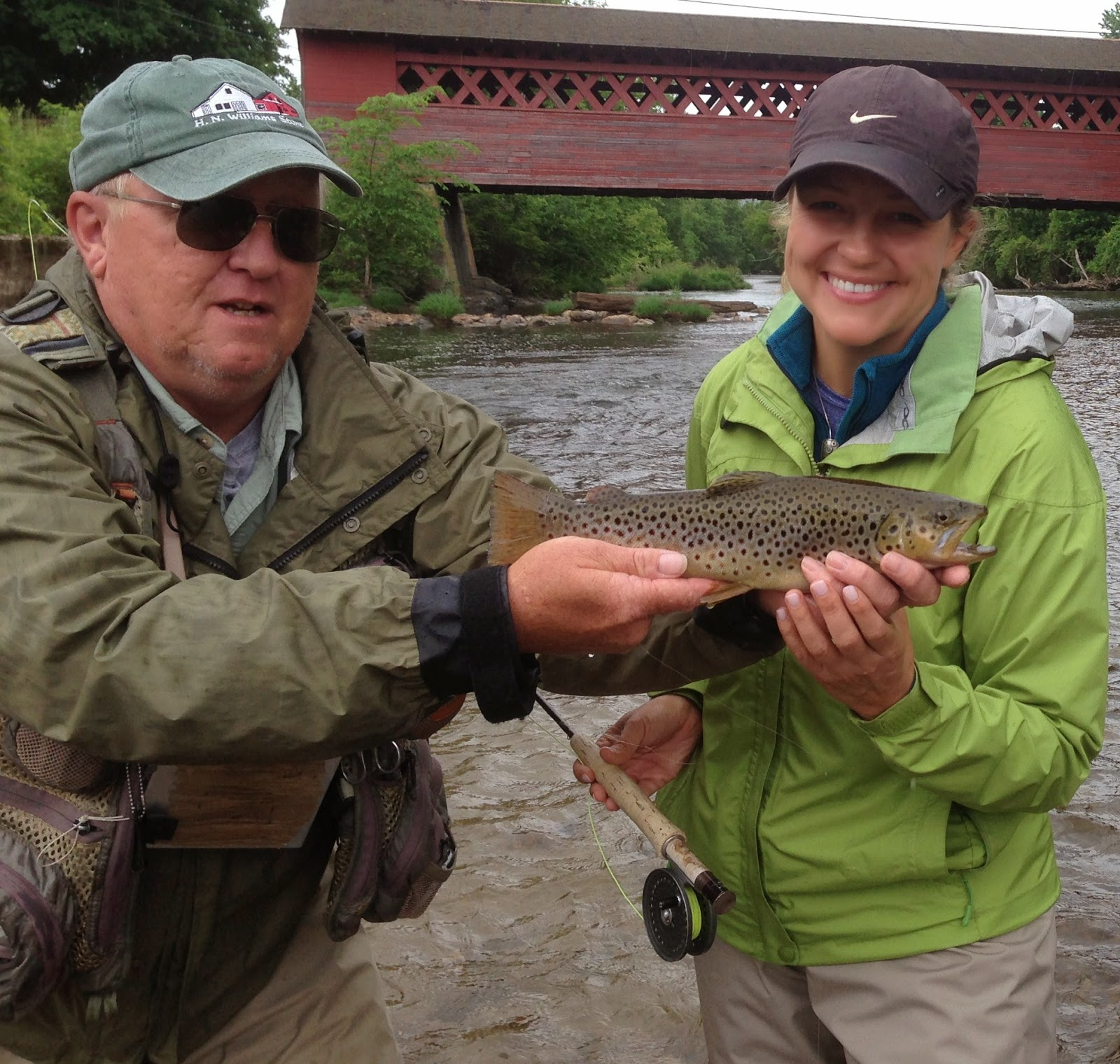 Vermont fly fishing the fish are wet for Is a fish wet