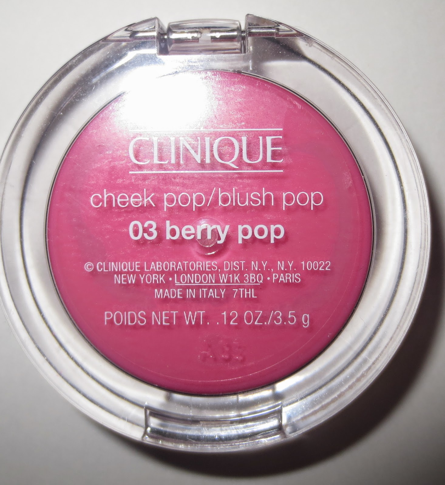 Clinique Cheek Pop - Berry Pop
