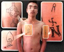 αφγανος ναζιστικο τατουαζ