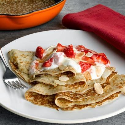 Resep Makanan Pancake Strawberry Caramel - Aneka Kreasi Resep Masakan ...