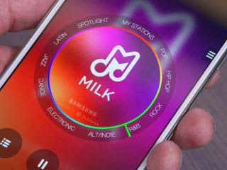 Samsung Milk Music image