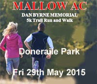 Big 5k race in scenic Doneraile Park...29th May