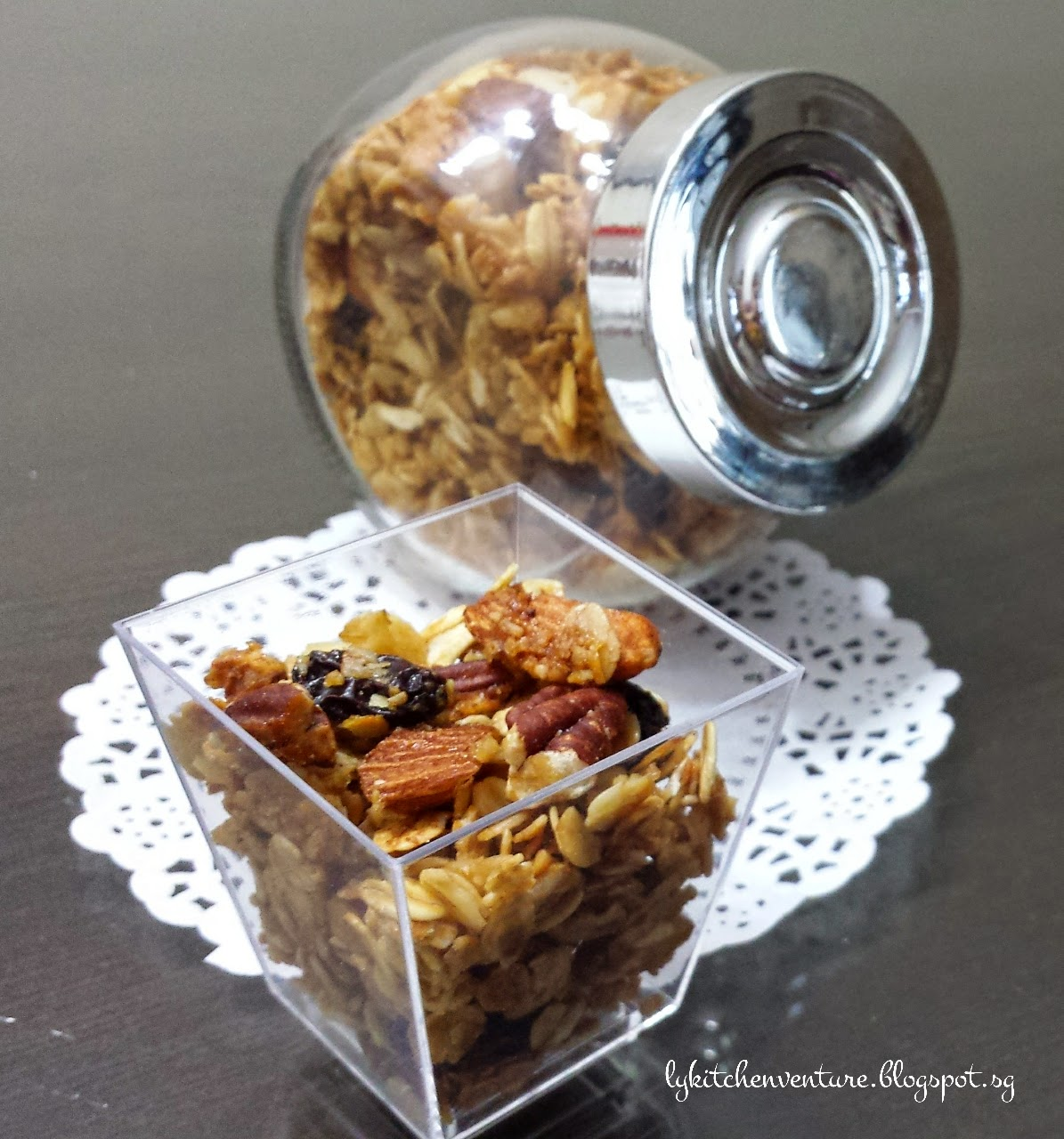 Ly S Kitchen Ventures Nutty Homemade Granola