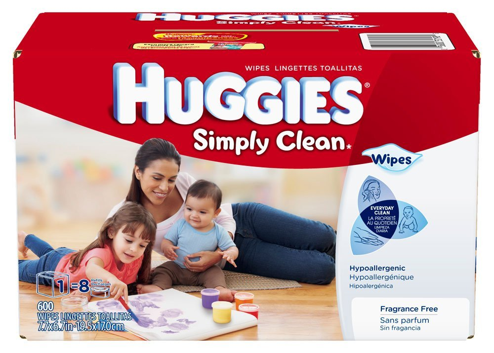 Amazon: Huggies Simply Clean Baby Wipes Just $0.02 Per Wipe Shipped