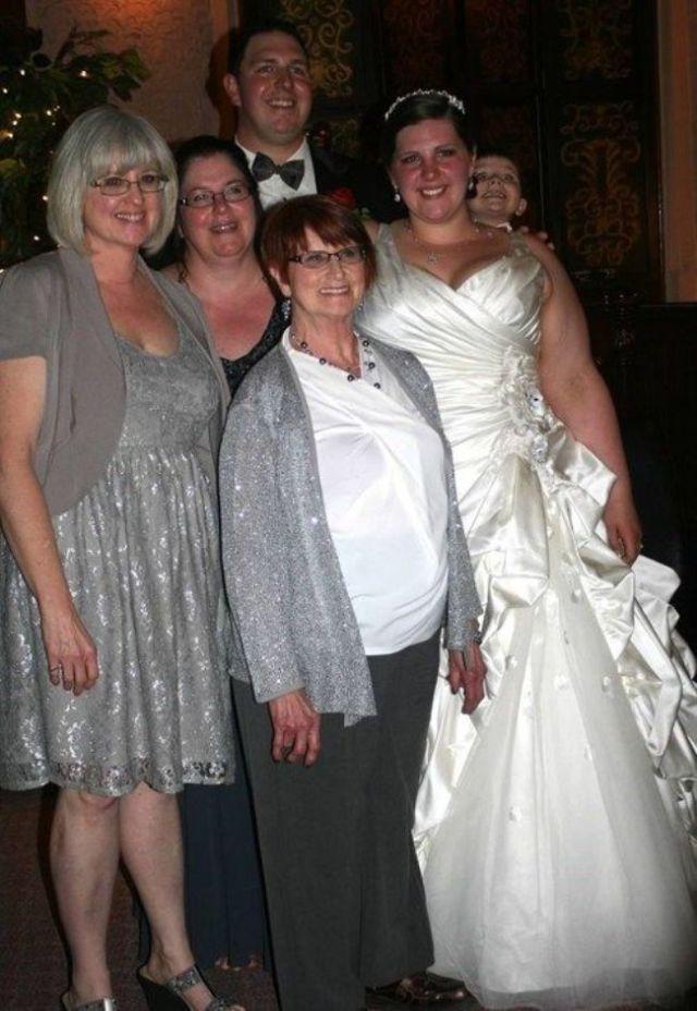 Fotos graciosas de bodas gente metida arruinadas.