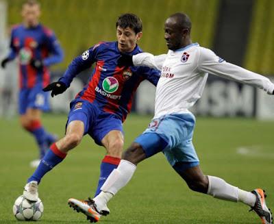 CSKA Moscow 3 - 0 Trabzonspor (2)