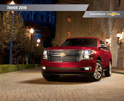 Downloadable 2016 Chevrolet Tahoe Brochure