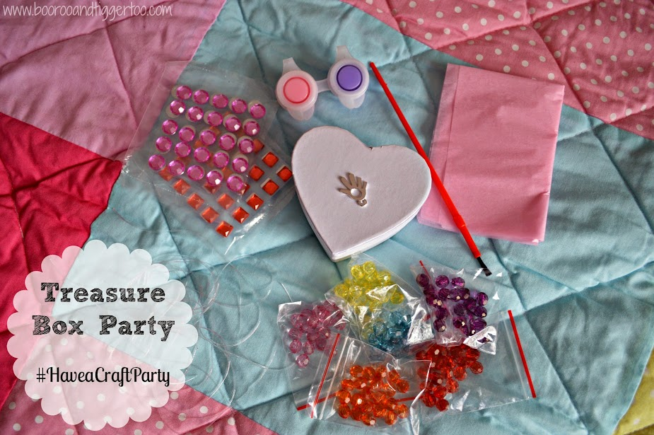 Interplay Teasure Box Craft Party
