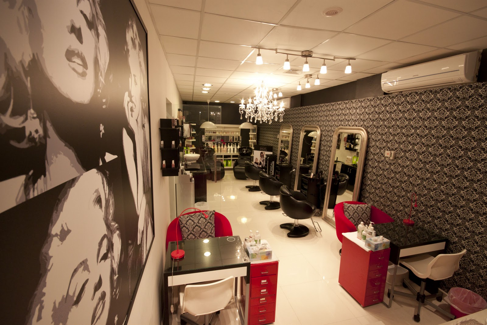 N Dot Interiors Sparkles Beauty Salon And Spa Al Khuwair Oman