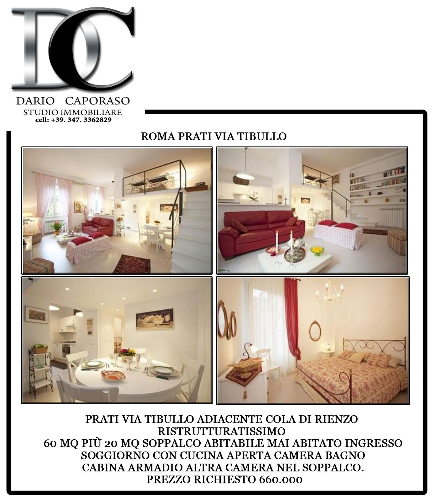 Dc studio immobiliare appartamento mq60 mq20 soppalco for Affittasi studio roma prati
