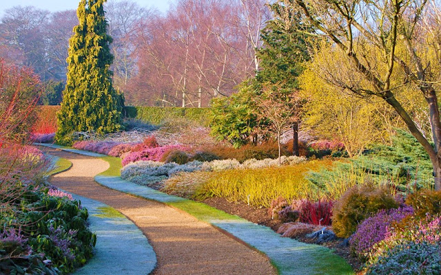The Beautiful Cambridge Botanic Garden - Benches.co.uk