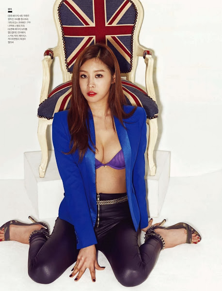 sungah nine muses esquire korea 2014