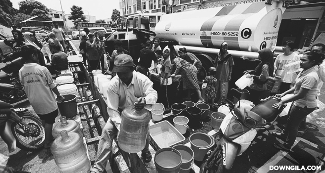 catuan air syabas selangor water rationing schedule jadual catuan air