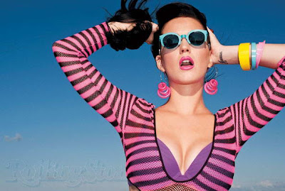 Katy Perry awesome poses in Rolling Stone photoshoot