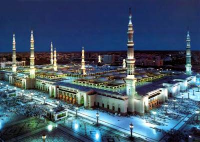 Masjid Al Nabawi, Madinah, Saudi Arabia