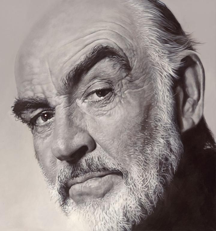 Sean Connery - New Pop Realism - Sebastian Krüger 1963