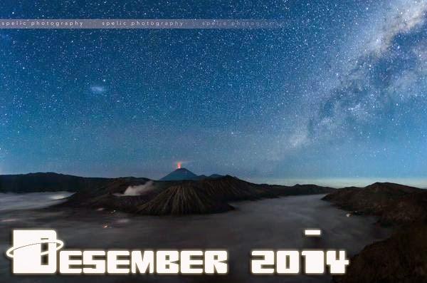 Wajib Lihat! Inilah Peristiwa Astronomis Desember 2014