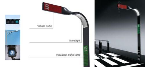 Mobius Strip Traffic Light