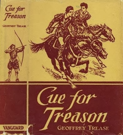 cue for treason journal Cue for treason is a children's historical novel written by geoffrey trease, and is his best-known work kit and peter go to a local magistrate, but discover he is a part of the treasonous plan they steal his horses, which are of exceptional quality, intending to ride to london to warn the queen.