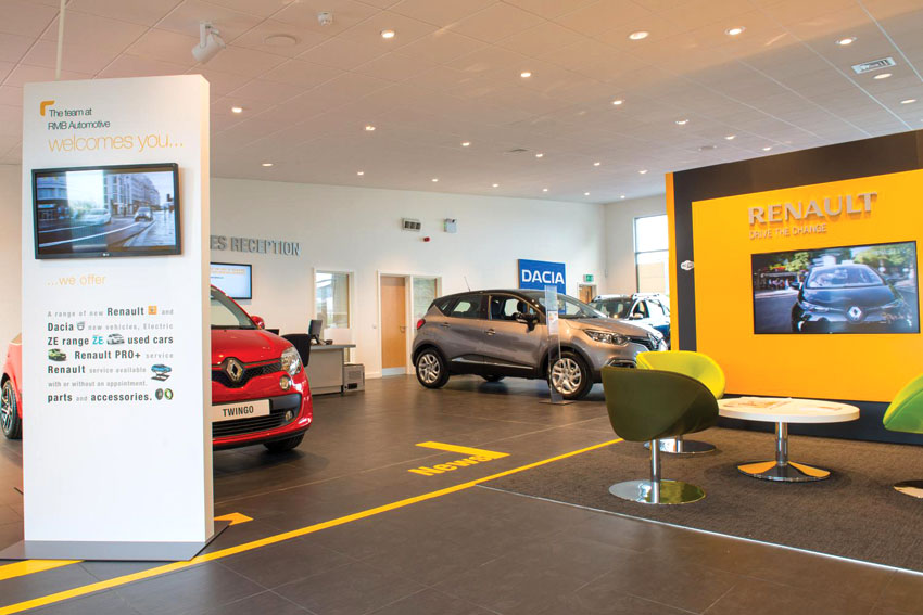 Renault And Dacia Opens New Showroom In North Yorkshire