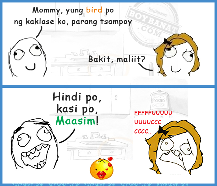 Tagalog Mommy And Child Jokes Pinoy Nanay Anak