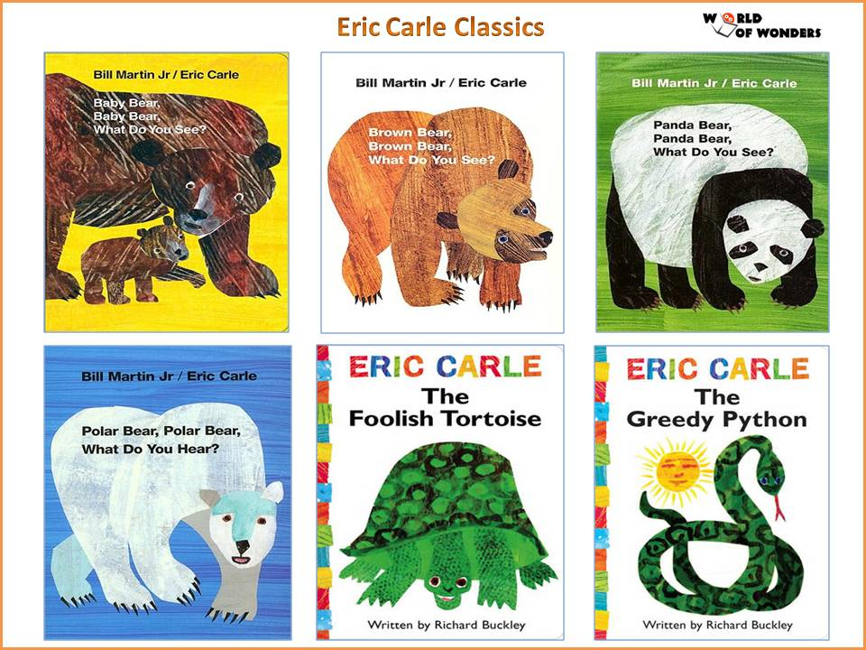 Eric Carle Collection (Over 40 Titles Available!)