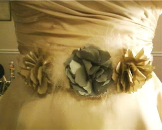 Handmade Wedding DIY Belt photo 2