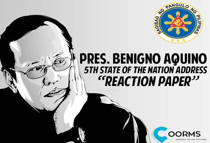 benigno assassination reaction paper View notes - reaction paper from economics 101 at jose rizal university reaction paper on state of the nation address (sona) 2013 his honorable president benigno s aquino iii again delivered his.