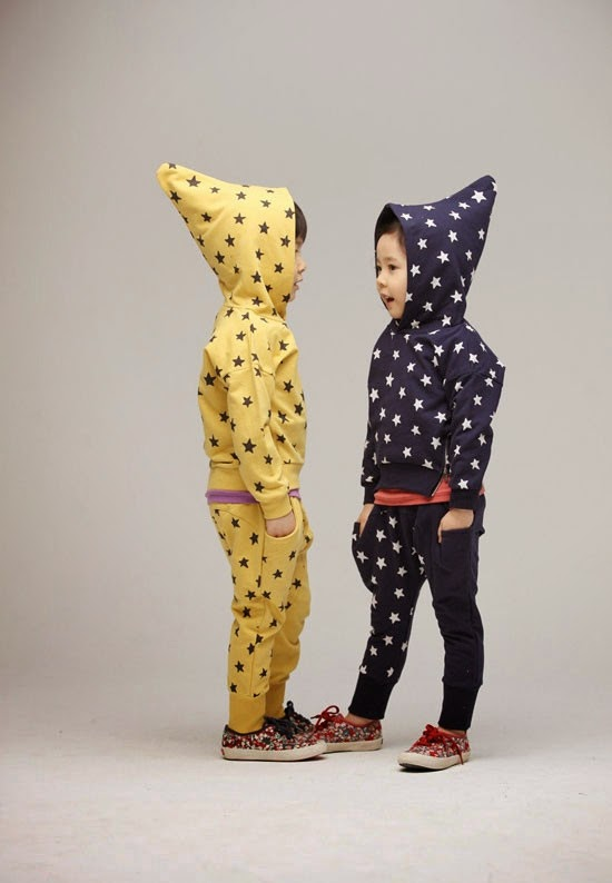 Star suit for kids by Color Me WHIMSY - cool kidswear