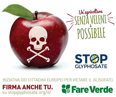 Firma la petizione per vietare l'uso di GLIFOSATO !