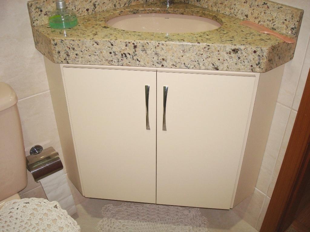 Gabinete Para Banheiro Gabinete para banheiro de madeira -> Gabinete Para Banheiro Pequeno Telhanorte