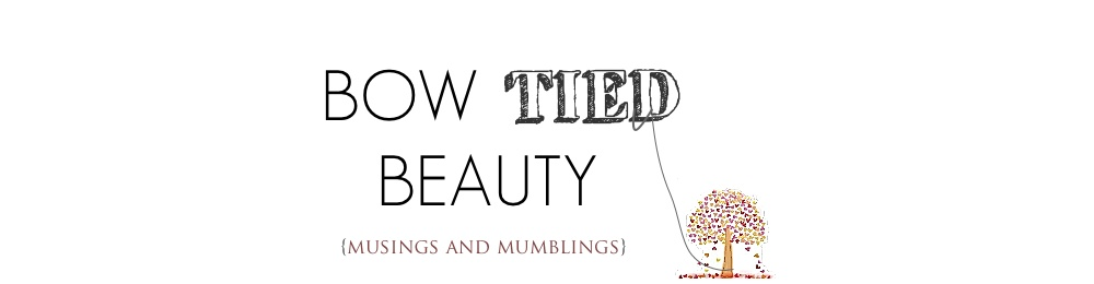 Bow Tied Beauty | Natural Beauty Blog