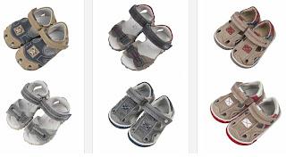 sandalias bebe chico