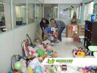 entrega de brinquedos hc