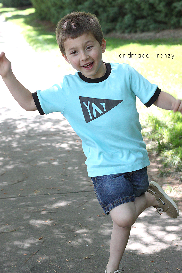 All About Boys: Round up of the FREE Basic Tee Pattern