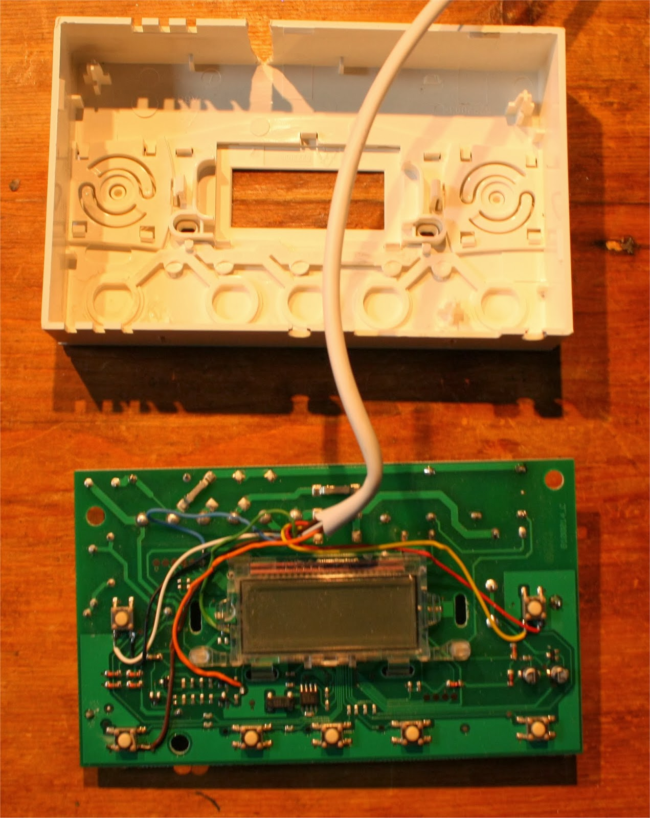 Projects With The Raspberry Pi Central Heating Gpio Ruby Wiringpi This Gives An Indication Of Current State And Hot Water These Are Then Connected To Two Input Lines On